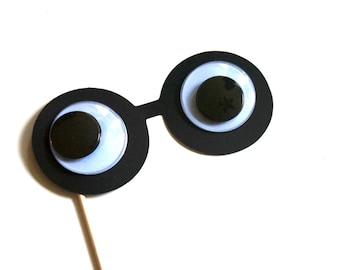 Googly Eye Photo Booth Prop - Birthdays, Weddings, Parties - 3D Photo Booth Props - Googly Eyes on a stick - Eyes Really Move