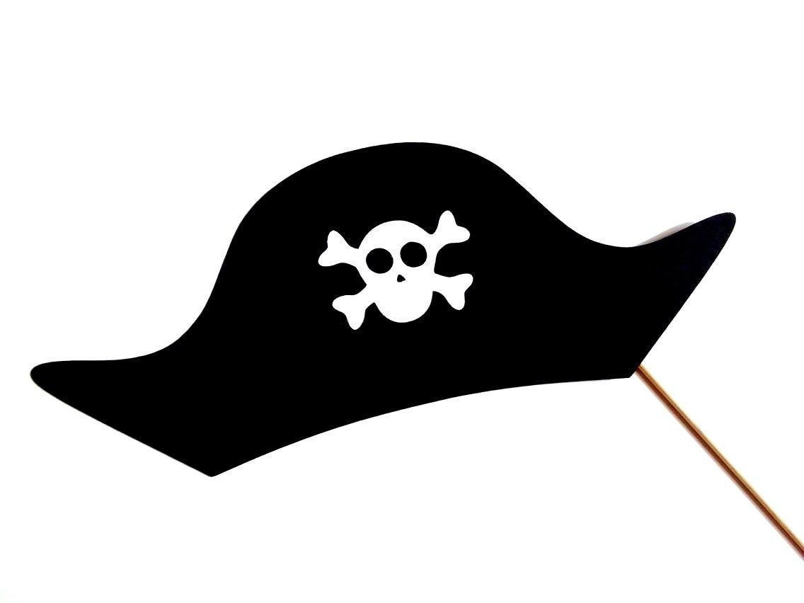 Pirata sombrero foto stand Prop sombrero de pirata en un | Etsy