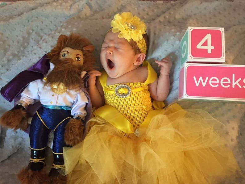97eadad1d Disney Princess / Baby Halloween Costume / Toddler Halloween | Etsy