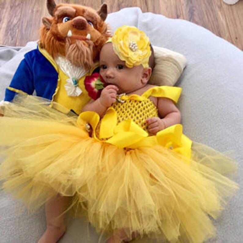 1dd9a30e30f Belle-Halloween-Kostüm Mädchen-Halloween-Kostüm Belle