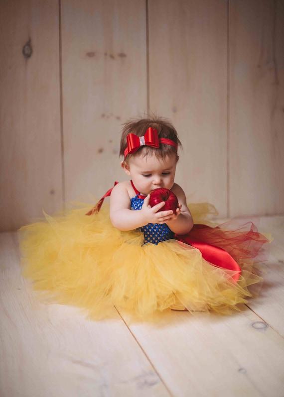 bd241eb04 RTS Ready to Ship Baby Halloween Costume Disney Snow White