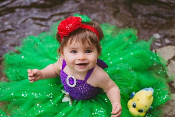 Costume Da Bagno Sirenetta Disney : Costume di halloween del bambino toddler halloween costume etsy