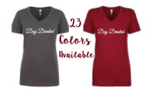 Jour Drinkin ' T shirt, journée à boire, jour de foot, tendance T Shirt, T-shirts avec des paroles, des chemises à boire, boire du T Shirt, Camping T Shirt