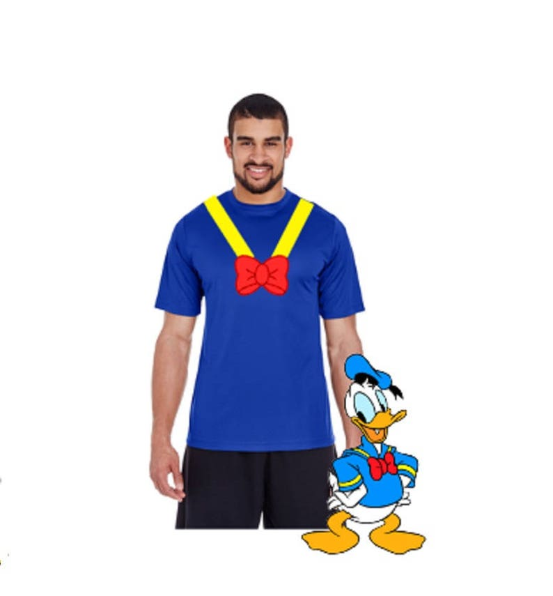 7ee00e8814d RTS Ready To Ship Donald Duck Shirt Donald Duck Costume