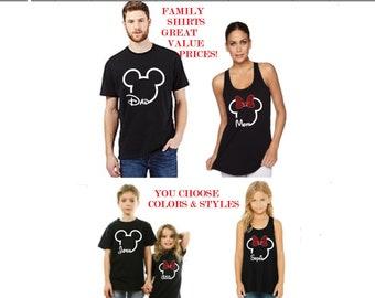 Disney shirts/Disney dad shirt/Disney Mom/Disney Matching Shirts/ Disney family shirts/Family Disney Shirt/ Disney Shirts for Men/Disney Dad