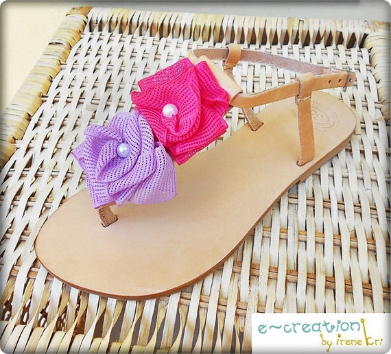 Floral Sandals Wedding Party Sandals Retro Sandals Leather Flats Sandals Summer Lilac Pearl Bridal Wedding Sandals Sandals Sandals wzYxqdzt6