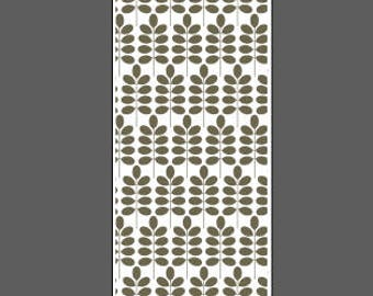 Leafy Branch large vertical - cuff lengths - laser engraved texture sheet pattern for rolling mill and metal clay