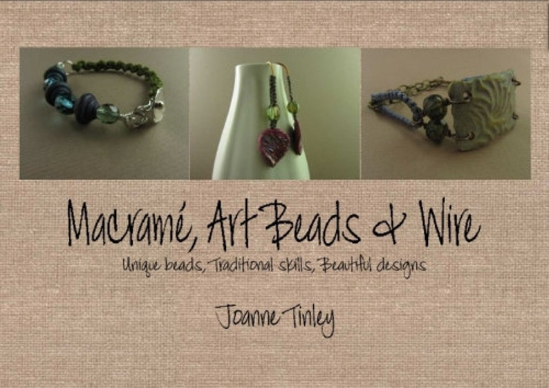 Macramé Art Beads and Wire ebook  6 jewellery projects for image 0