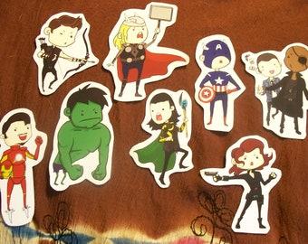 Avenger Sticker set
