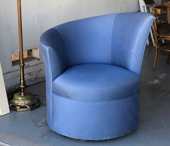 Superb 1940S Asymmetrical Chair Fan Back Hollywood Regency 1940S Swivel Tub Club Chair Mid Century Mcm Kagan Nautilus Style Home Interior And Landscaping Mentranervesignezvosmurscom