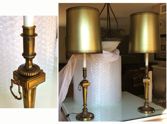 Torchiere Table Lamps by Stiffel