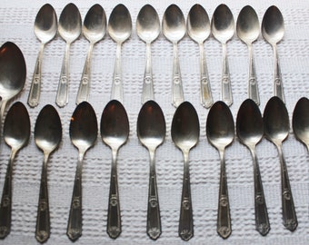 Pure Silver Spoon Etsy