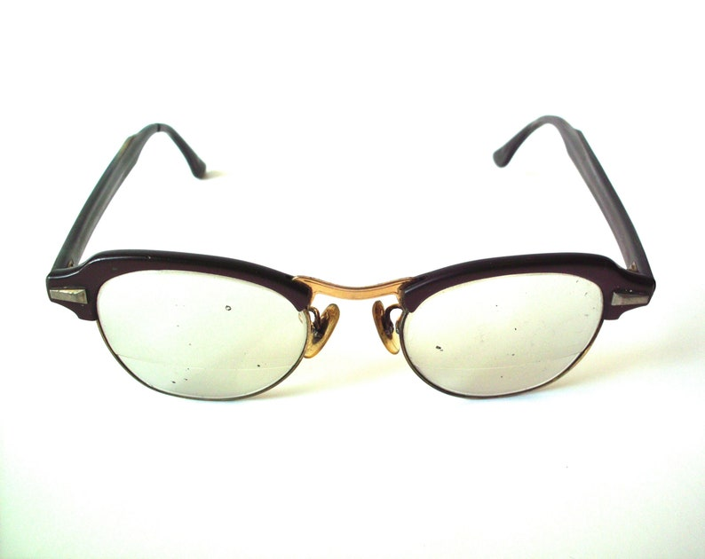 a8e79319f60 Vintage Bausch   Lomb Bi-Focal Safety Glasses with