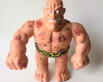 Vintage RARE, Tony The Tattooed Man, Mattel, 1992, Banned Tattoo Doll, Tony, Mattel Tattoo Doll