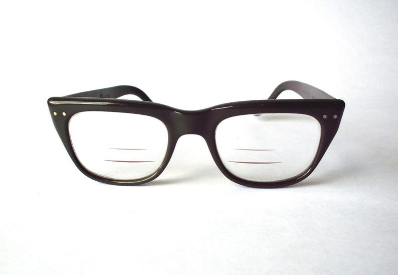 f677fd15a5b Vintage Criss Trifocal Safety-Style Glasses Very Good