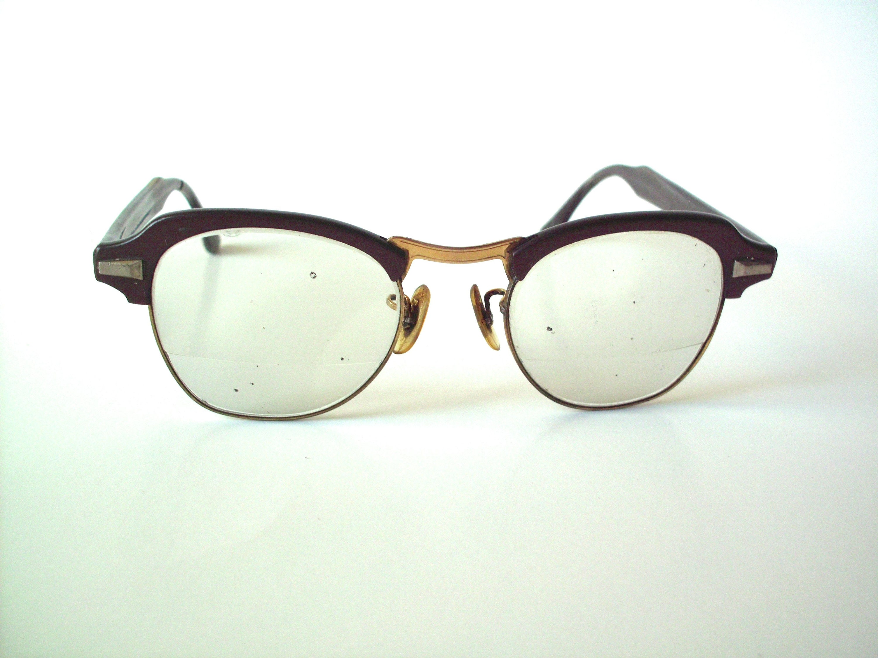 990f677b6ee Vintage bausch lomb bi focal safety glasses with etsy jpg 3000x2250 Horn  rimmed chic safety glasses