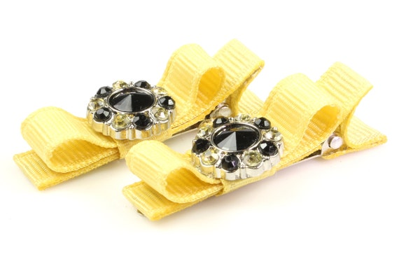 Baby Girl Clip Bows Hair Barrette Alligator Crown Bow Handmade Accessories