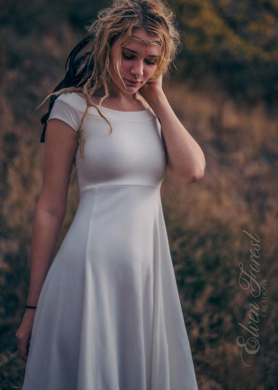 Simply Bohemian ~ Wedding Dress ~ Elven Forest, Bride, Gypsy, Faery ...