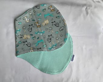 Safari Baby Burp Cloth