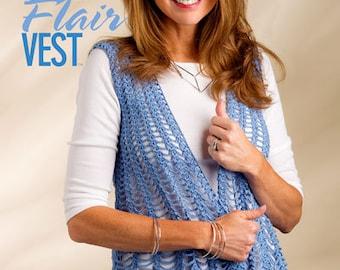 Fit & Flair Vest Crochet vest Womans girls
