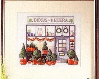 """Permin Cross Stitch PATTERN/GRAPH  """"Buxus & Hedera""""  Shop front NEW"""