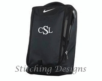 9a3b08ade1e NIKE Golf shoe bag with monogram, Monogrammed golf show tote, Personalized golf  shoe bag