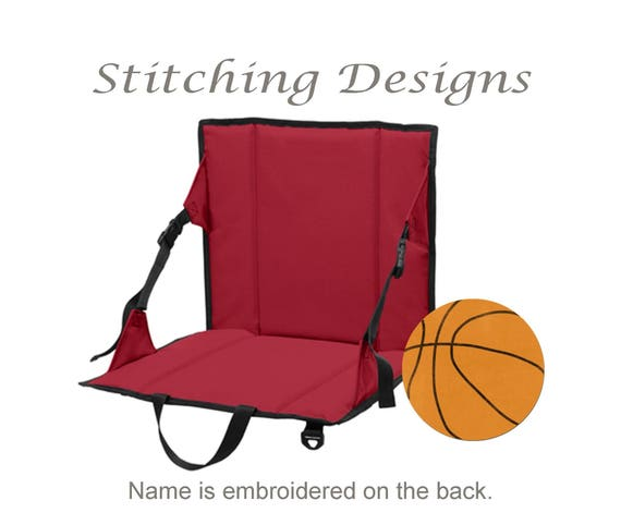 Like this item?  sc 1 st  Etsy & Personalized stadium seat Stadium chair Bleacher seat