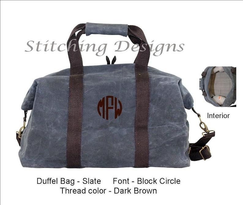 Men s Duffel Bag Waxed Canvas Duffle Bag Weekender  e8b3c57221a9b