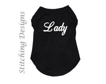 Personalized Dog shirts, Dog tees, Dog T-Shirts, Shirt for dog - Black, Gray, Red or White