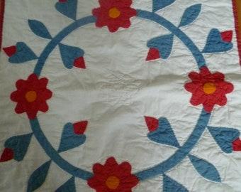 Folk Art Rose of Sharon