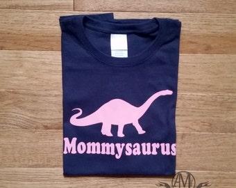 Womens dinosaur shirt, mommy dinosaur shirt, dinosaur birthday party shirt