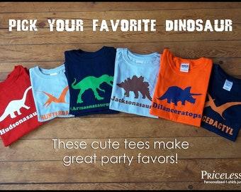 Personalized dinosaur birthday shirt, kids dinosaur shirts, birthday shirt boy, boy dinosaur shirts, gift for kids, Dinosaur Tees