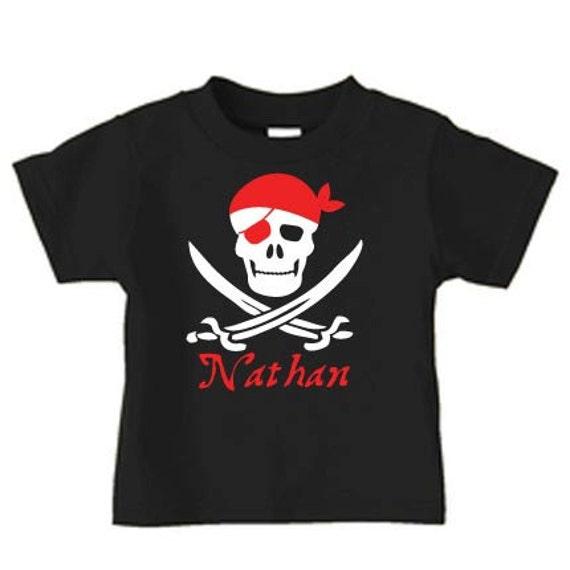 6ff1aafc Pirate birthday shirt for boys, personalized pirate birthday party tshirt  for kids, toddler shirts, boy birthday shirt