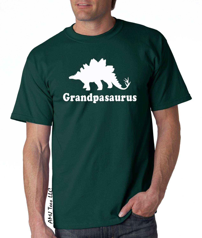 grandpasaurus dinosaur shirt for men, funny grandpa shirt, holiday gifts for grandpa