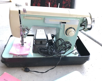 Brother Galaxie 230 Sewing Machine Vintage with Manual Fully Serviced