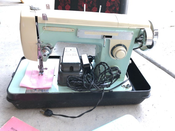 Brother Galaxie 40 Sewing Machine Vintage With Manual Fully Etsy Extraordinary Vintage Brother Sewing Machine Manual
