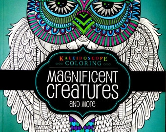 Hinkler Books Kaleidoscope Coloring Magnificent Creatures And More