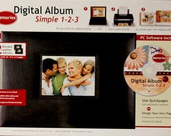 Scrapbook Kits New Seasons Digital Album Simple 1-2-3 Scrapbook Kit