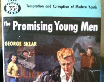 Vintage Paperback Signet Giant S924 The Promising Young Men by George Sklar 1952 VG Condition JUVIE GGA