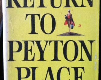 Vintage Paperback Dell F91 Return To Peyton Place by Grace Metalious 1960 VG