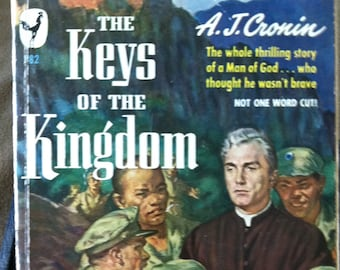 Vintage Paperback Bantam 782 The Keys of the Kingdom by A.J. Cronin 1950 VG- Condition