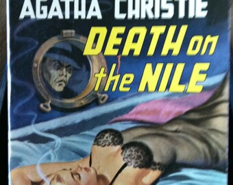 Vintage Paperback Avon 317 Death On the Nile by Agatha Christie 1951 VG- Condition