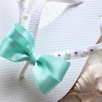 Bridesmaid Gift idea, Seafoam flip flops, Aqua green sandals, wedding beach, shower gift ideas, bridal shower ideas, bridal gift ideas