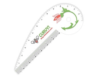 Curvy!, Curvey! The Pretty French Curve Ruler
