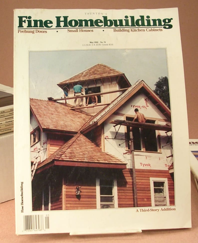 Fine Homebuilding Magazines 11 Back Issues from 1989 1991 1992 image 0