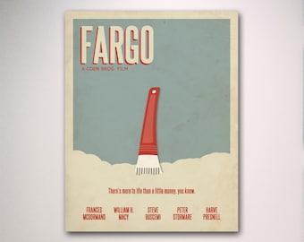 Fargo Minimalist Movie Poster