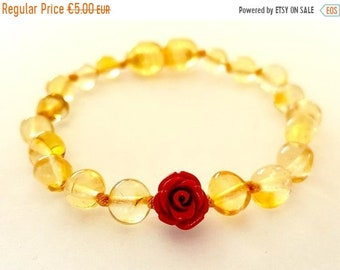 Genuine Amber Bracelet/anklet Child-adult Knotted Beads Sizes 13-25 Cm Earrings Fashion Jewelry