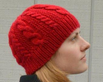 Lineweaver Hat PDF Knitting Pattern by Vint Hill Knits