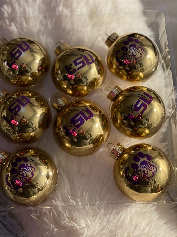 Jack skellington inspired ornaments Nightmare before Christmas inspired ornaments All one face NBC. set of 8