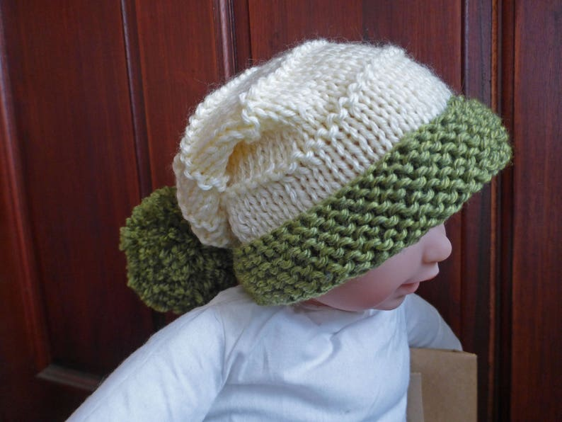 d63bc5eeccd KNITTING PATTERN for a baby s hat Laurel Baby Hat PDF